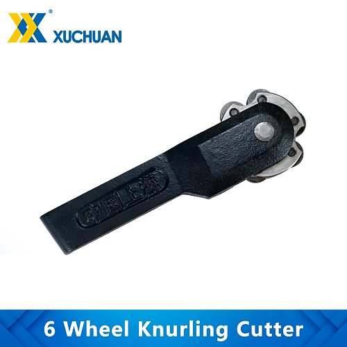 6 Wheel Knurling Cutter Linear Pitch Knurl Lathe Cutter Gear Shaper Cutter Steel Lathe Tool 6 Head Knurl Wheel Lathe Cutter