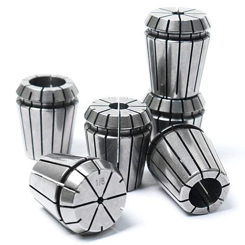 6 pcs ER32 Milling Lathe Collets CNC Chuck Set Engraving Machine Fixture Accessories Spindle Clamp Drop Shopping