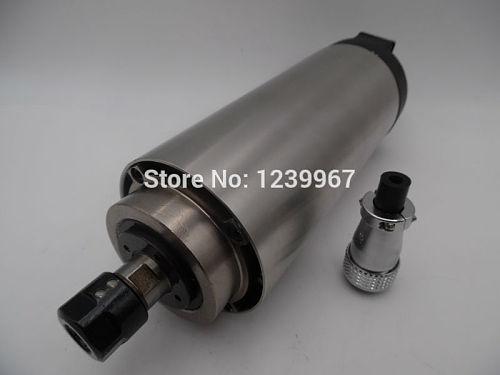 1.5KW ER11 24000rpm 220V 400Hz 80mm Air cooled Spindle Motor 4 Bearings AC220V for CNC Engraving Lathe Milling