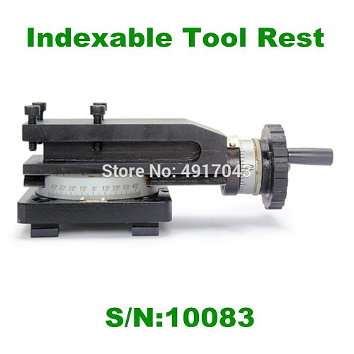 Best price S/N:10083 Indexable Tool Rest/Horizontal Slider/SIEG C1/M1/C1A Tool Holder