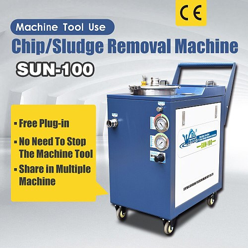 Machine tool tank cleaning equipment SUN-100 with free shipping