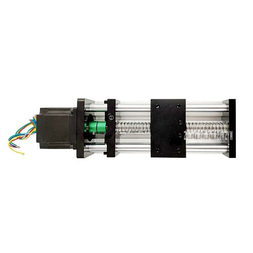 1610 Ball Screw Linear Module Aluminum Alloy Guide Rail Slider Table Module Ball Screw Slide 100MM/200MM/300MM/400MM/500MM/600MM