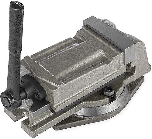 5  Bench Lathe Milling Vice Swivel Base Precision Milling Clamping Vise CNC