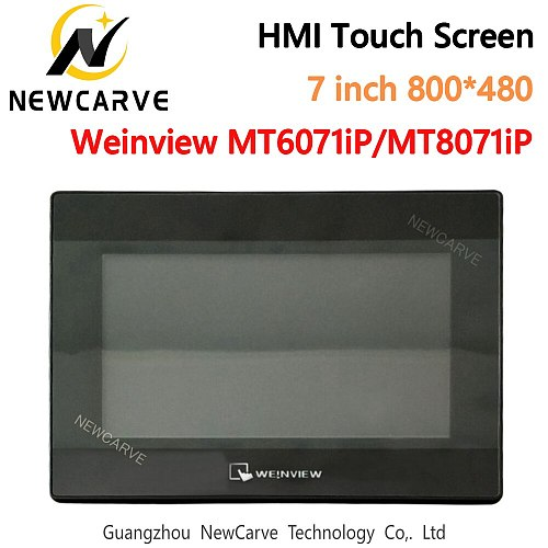 7 Inch HMI Touch Screen WEINVIEW/ MT6071iP MT8071iP USB/Ethernet Human Machine Interface Replace MT6070iH5 MT6070iH NEWCARVE