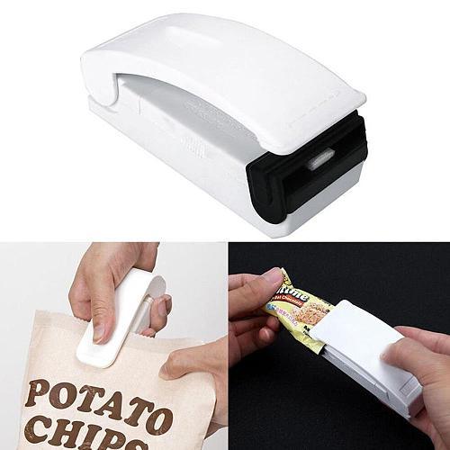 Mini Household Sealing Machine Small Household Sealing Bag Bag Food Sealing Machine Machine Pressure Plastic Hand J1Y2