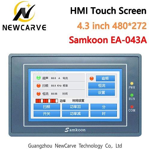 Samkoon EA-043A HMI Touch Screen New 4.3 Inch 480*272 Human Machine Interface Newcarve