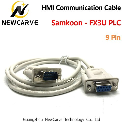 Samkoon-FX3U Program Cable HMI Touch Screen Connect Samkoon EA、SA、SK、AK All Series With FX Series PLC NEWCARVE