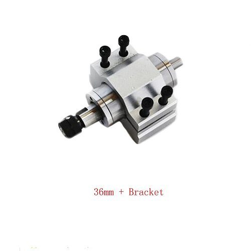 1pc CNC machine tools motorized spindle 36mm 42mm with ER11 collet spindle motor drilling and tapping grinding