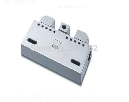 EPT-7052 Precision EDM Vises with Double Clamping Openings, SUS440 Stainless Steel Vice Jig Tools for EDM Wire Cutting Machine