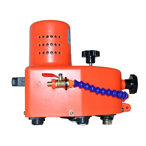 MJ-1 Small Portable Glass Grinding Machine Can Grinding Glass Straight Edge, Round Edge, Hypotenuse Tile Edging Machine 110/220V