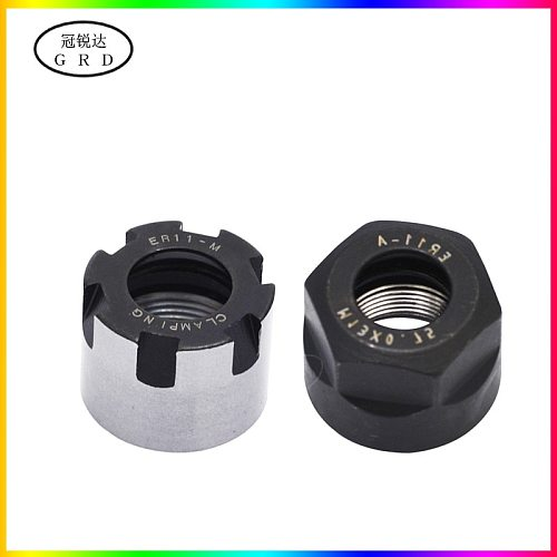 brand new er11 nut er11a er11m nut for cnc milling collet use Can cooperate er collet chuck and er series tool holder shank