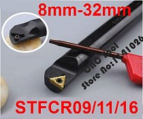 1PCS 8mm 10mm 12mm 14mm 16mm 20mm 25mm 32mm STFCR09 STFCR11 STFCR16 STFCL11 STFCL16 the Right/Left Hand CNC Turning Lathe tools