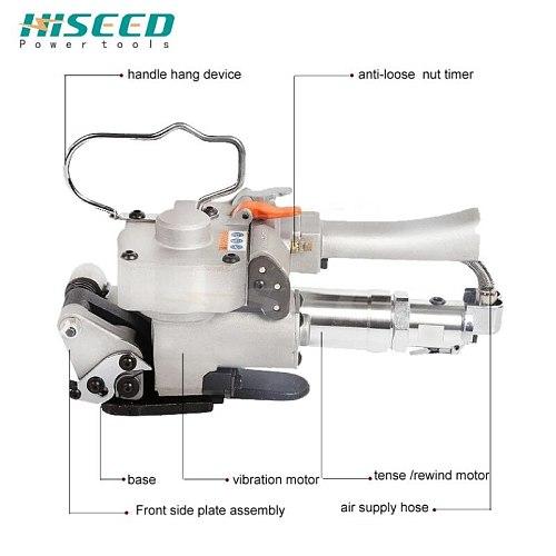 pneumatic steel belt integral iron sheet automatic strapping machine