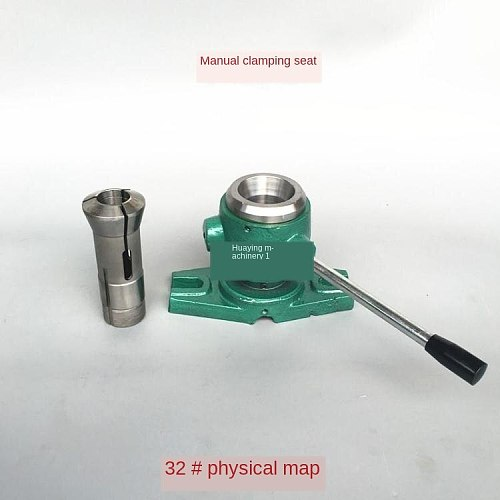 Manual chuck 15  20 type 25 Type 32 type indexing vertical pneumatic chuck holder clamp for instrument lathe chuck holder