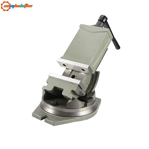 5'' 125mm incline milling machine tool vise QHK125 width of jaw 125mm cast iron made in china