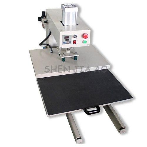 Push-pull type hot stamping machine 38*38cm t-shirt clothing pyrograph pneumatic push-pull sublimation transfer machine 1pc
