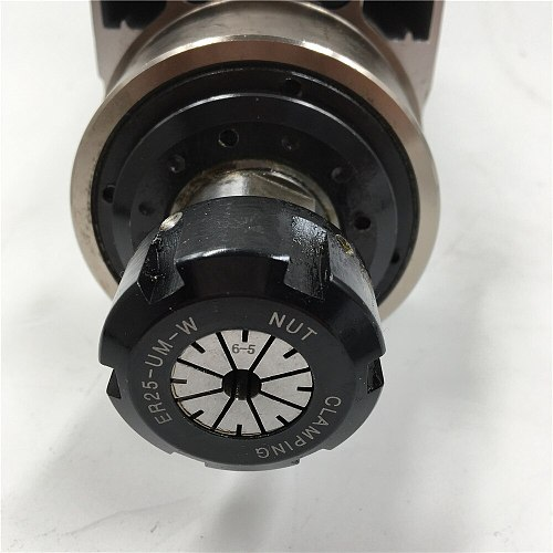 CNC Spindle Motor Kit 1.5KW 220V Air Cooled ER20 Square Spindle Motor + 2.2KW 380V VFD Inverter for CNC Engraving Lathe Milling