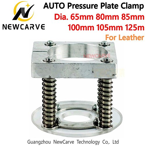 Auto Pressure Plate Clamp 65mm 80mm 85mm 100mm 105mm 125mm For CNC Router Leather Cutting NEWCARVE