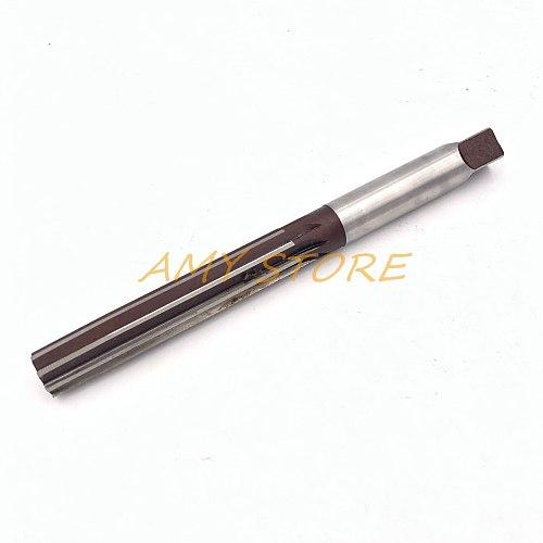 1Pc 8 Flute Number 15mm x 83mm x 15mm x 163mm H8 Alloy Tool Steel Straight Shank Hand Reamer