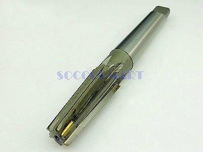 1pcs Alloy Steel 1:10 Machinery Taper Shank Straight Flute Taper Reamers 14mm