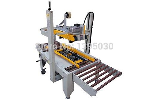 1PC FXJ-6050 220V 180W Large Semi-Auto Box Case Carton Tape Sealer Machine Sealing With English Manual