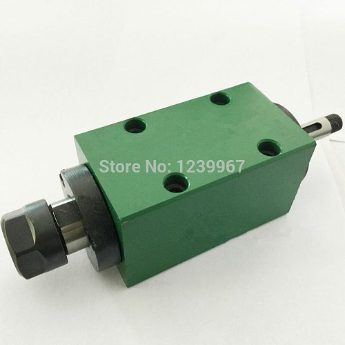 ER16 Drilling Power Head Spindle Unit Head 50mm Machine Tool Spindle Max. 3000rpm for Drilling/ Boring/ Cutting Machine