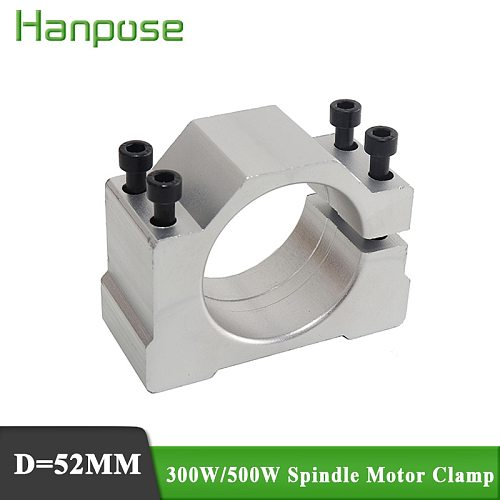 Free Shipping 1PCS 300W 400W 500W DC Spindle Motor Mounting Bracket Spindle Clamp Chuck  Free 4pcs screws