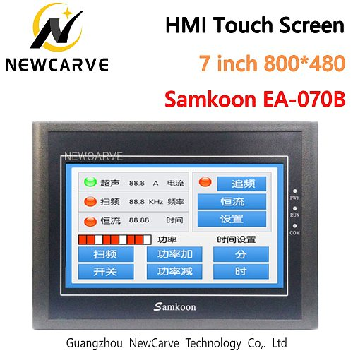 Samkoon EA-070B HMI 7  Touch Screen New 7 Inch touch panel 800*480 Human Machine Interface Newcave