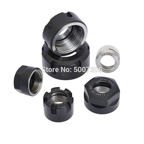 ER8 ER11 ER16 ER ER25 ER32 ER40 A M UM nut   ER  collet nut for clamping cnc milling turning collet chucks