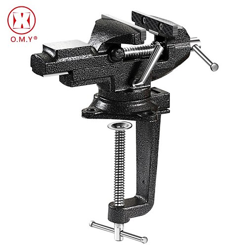 80 Heavy Table Vise Bench Vice Universal Clamp Desktop Vise High-carbon steel Lock Clamp Craft Vise for DIY Craft Mold Fixed