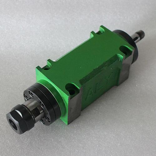 ER20 Power Head Boring Milling Spindle Head Unit 5000~6000rpm Waterproof 60mm