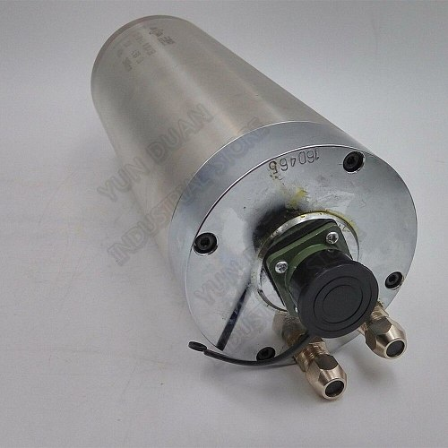Changsheng 4.5KW 100mm ER20 1-13mm 220V AC 24000rpm Water Cooled Spindle Motor 3PH for CNC Engraving Router Carving Wood