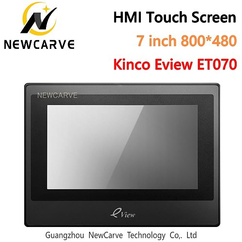 Kinco Eview ET070 Hmi Touch Screen 7 Inch 800*480 Human Machine Interface Newcarve