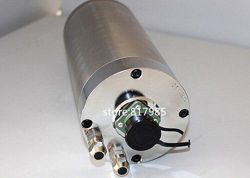 Excellent 3KW spindle motor,220V/380V ER20 4 bearings 3000W 100x220mm engraving machine spindle motor