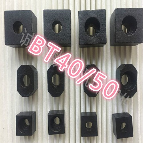 BT40 BT50 cLocating block locating pin spindle end face key Cnc spindle lathe spindle shank