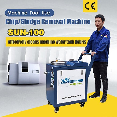Mobile tank cleaning machine SUN-100 with free  shipping