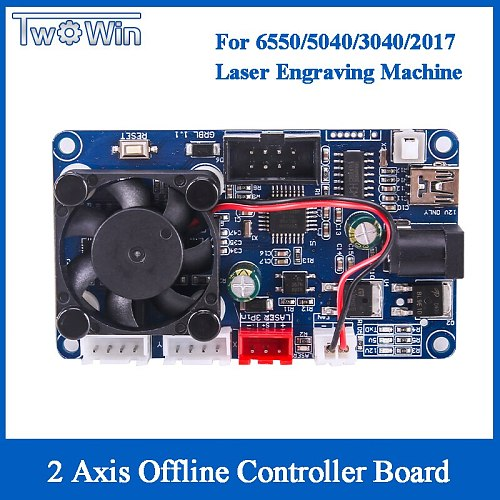 2 axis offline controller board ,GRBL USB port cnc engraving machine control board for 2017,3020,4050,6550 2 axis machine