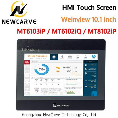 MT6103iP MT8102iP MT6102iQ HMI Touch Screen 10.1Inch 1024*600 USB/Ethernet WEINVIEW/WEINTEK New Human Machine Interface NEWCARVE
