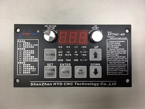 HYD Automatic Arc and cap voltage plasma torch height controller for CNC Plasma cutter THC XPTHC-4H