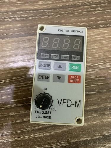 Inverter operation panel   VFD-M  LC-M02E LC-MO2E LC-M2E   universal