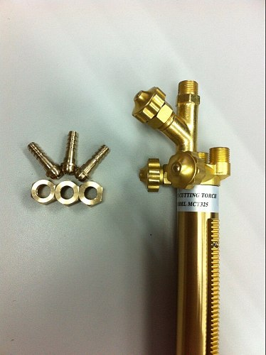 Hot recommend cnc flame cutting machine torch with flashback arrestor and torch holder