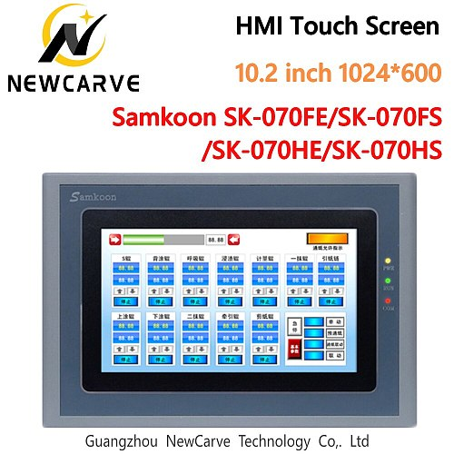 Samkoon SK-070FE-SK-070FS SK-070HE-SK-070HS HMI Touch Screen New 7 Inch 800*480 Human Machine Interface Newcarve