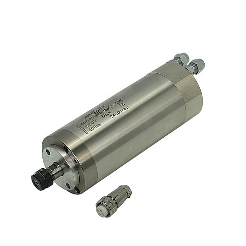 ER11 AC 220V 5A 400Hz CNC Spindle Motor 800W 65mm*158mm Water-Cooled CNC Spindle for CNC Router Milling Machine