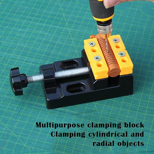 57mm Adjustable Mini Jaw Bench Clamp Drill Press Woodworking Fixed Table Vise Multifunction Machine Tools Accessories