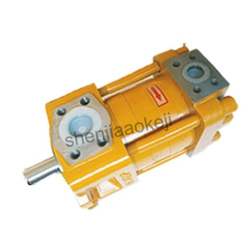 1pc Electric Hydraulic gear pump NT3-G20F Cast iron pump Low noise internal gear pump without motor 32Mpa