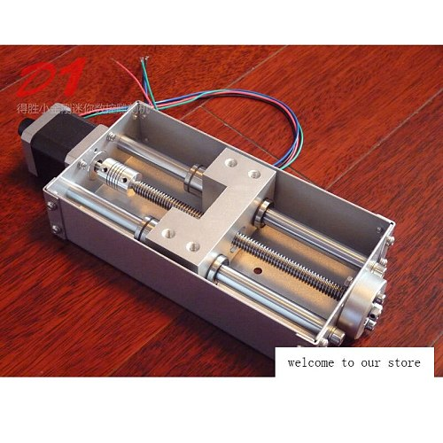 Z axis for CNC engraving machine sliding working table (140mm stroke), CNC Z shaft for CNC engraving machine