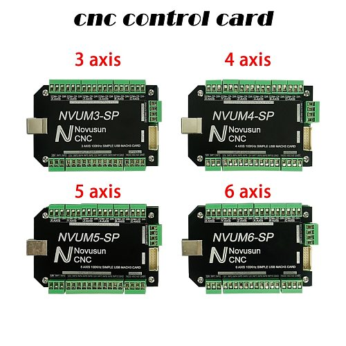 CNC NVUM USB motion control card CNC controller card usb mach3 100Khz Board for Stepper Motor CNC router control box 3 4 5 6Axis