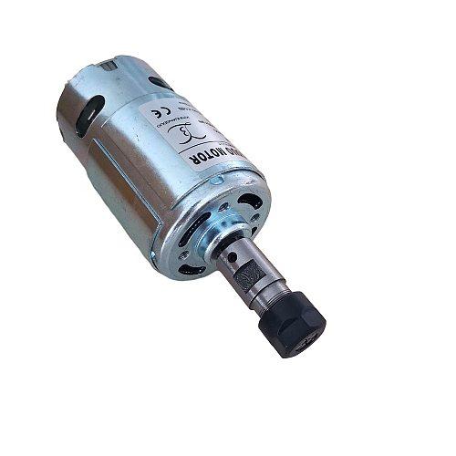 997 Powerful DC spindle Motor 500W DC12-36V High Speed Motor Silent Ball Bearing Engraving Machine Spindle Motor