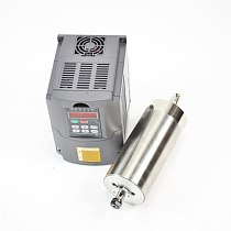 CNC spindle 1.5kw 110v water cooled SPINDLE MOTOR for milling machine and matching variable frequency drive inverter vfd