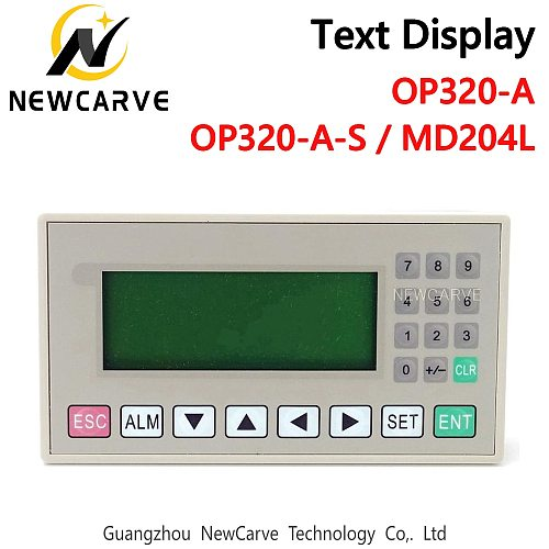 OP320-A OP320-A-S MD204L text display support xinjie V6.5 support 232 485 422 communications ports